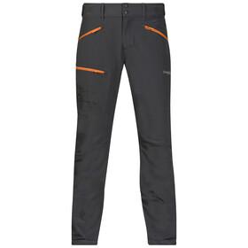 Bergans M's Brekketind Pant Solid Charcoal/Pumpkin